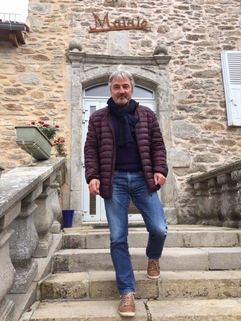 Patrick Alcouffe, maire de Colombiès